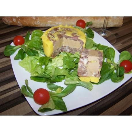 Le 50/50 Pâté au Foie Gras de Canard